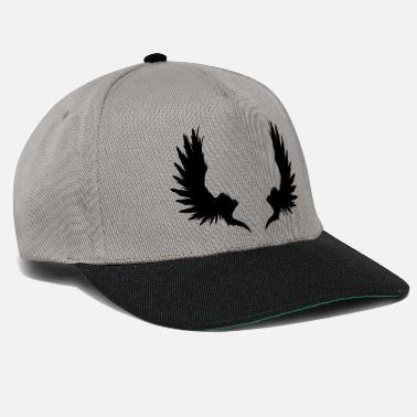 Garden Underwear Back Wings - Snapback Cap