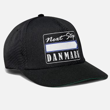 Denmark Design your own Denmark signpost - Next B2 - Snapback Cap
