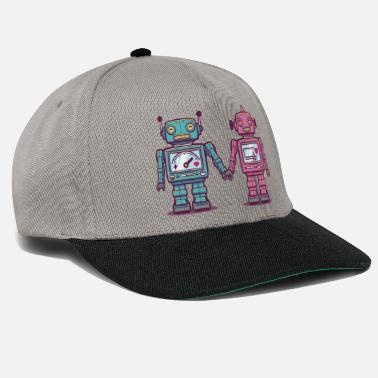 Collections Loving Robots - Snapback Cap