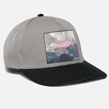 Borderlands Whale in the Clouds - Snapback Cap