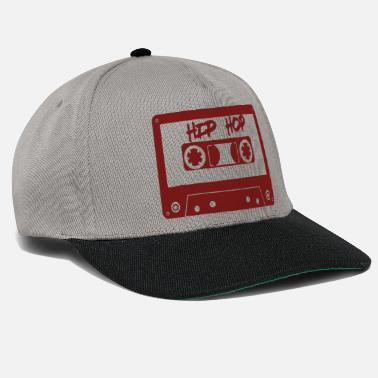 Teen Hip Hop Retro Old school rapper rap tape spruch - Snapback Cap