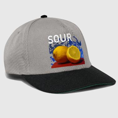 Fruit sour lemons Fresh sour - Snapback Cap