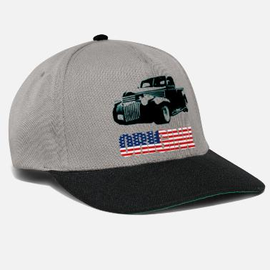 Plymouth Pick-Up in black - Snapback Cap