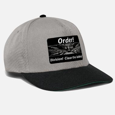 Order! Division! Clear the lobbies UK - Snapback Cap