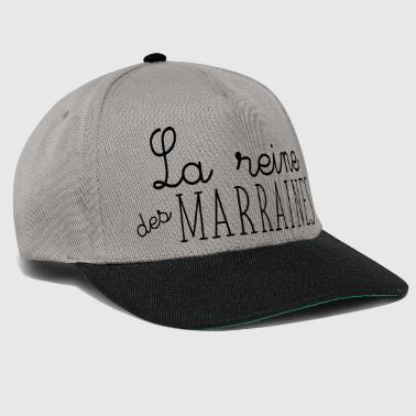 the queen of the godmothers - Snapback Cap