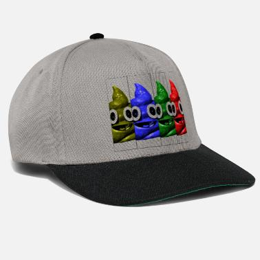 Face Happy faces - Snapback Cap