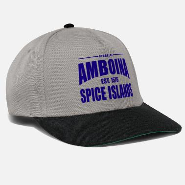 Established Cidade de Amboina - Blue - Snapback cap