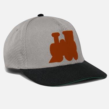 Locomotive Locomotive, steam locomotive - Snapback Cap