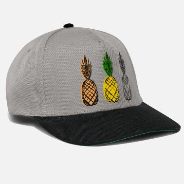 Collage Pineapple collage - Snapback Cap