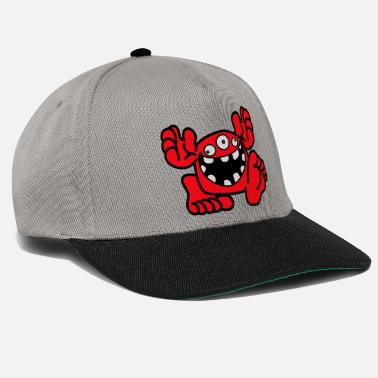 Proud To Be A Monster Cartoon by Cheerful Madness! - Snapback Cap