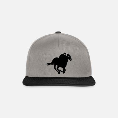 Jockey - Carreras de caballos Gorra snapback  7e9ea9a589a