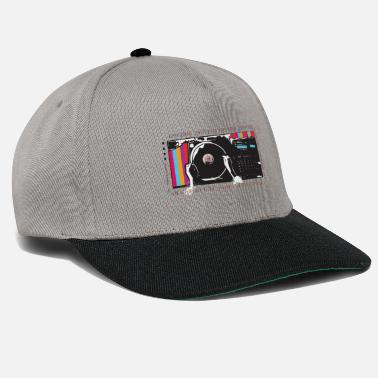 Old Turntable Hip Hop - Snapback Cap