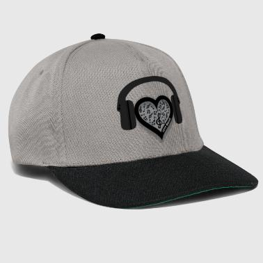 Love Music Hat - Snapback Cap