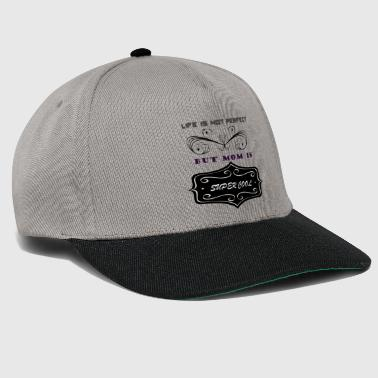 super cool mum - Snapback Cap