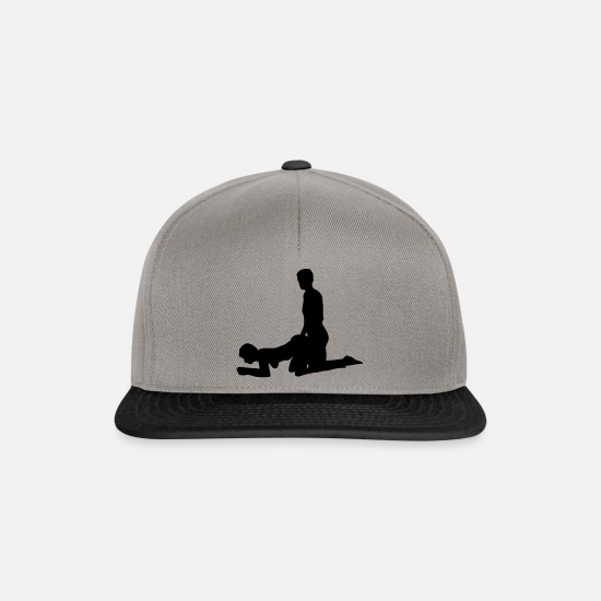 Sex Caps & Hats - sex position - Snapback Cap graphite/black