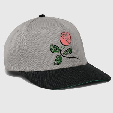 Rose with thorns - Snapback Cap