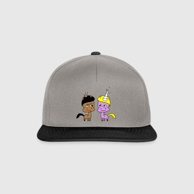 He and She - Snapback Cap