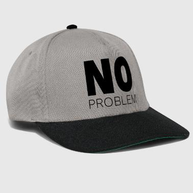 No problem - Czapka typu snapback