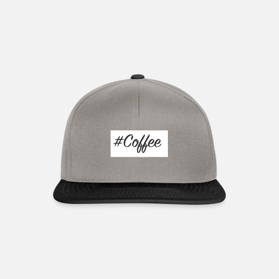 Coffee Caps & Mützen - Coffee - Snapback Cap Graphit/Schwarz