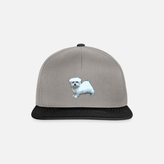 Maltese Caps & Hats - Comic Maltese - Snapback Cap graphite/black