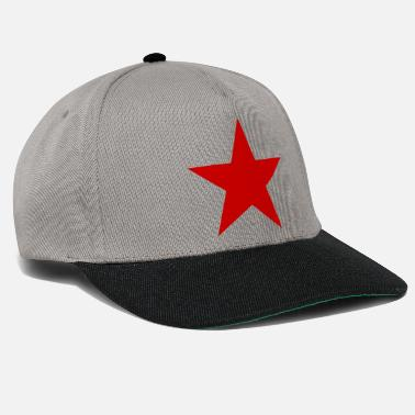 Red Star Star red, red star - Snapback Cap