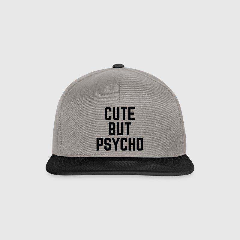 Cute But Psycho - Snapback Cap