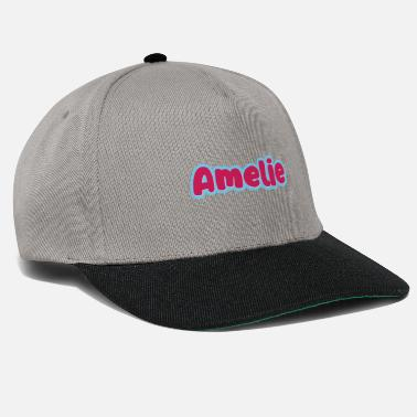 First Name Amelie name first name - Snapback Cap