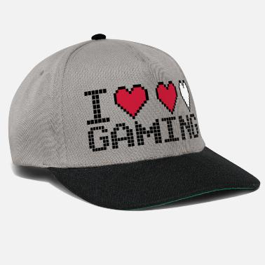 I Heart I Heart Gaming Quote - Casquette snapback