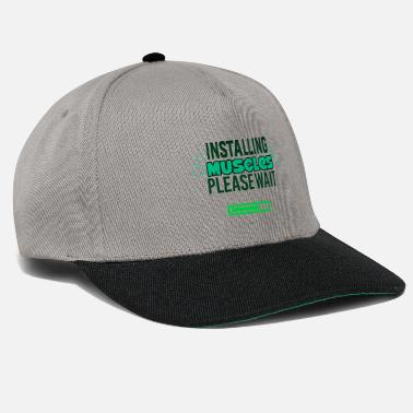 Installation Les muscles Installation - Casquette snapback