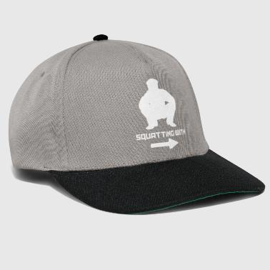 Squat SQUATTING WITH - Snapback Cap