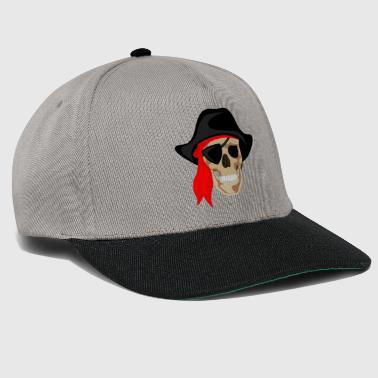 Pirata - Bone Pirate - Teschio - Snapback Cap