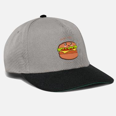 Hamburger hamburger - Casquette snapback
