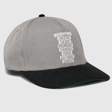 CHESTDAY Internacional - Gorra Snapback