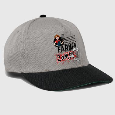 Female Farmer - Zombie by night - Snapback Cap
