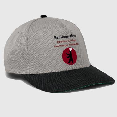 Ddr Berlin cuisine, recipe DDR, Berlin sayings typical - Snapback Cap