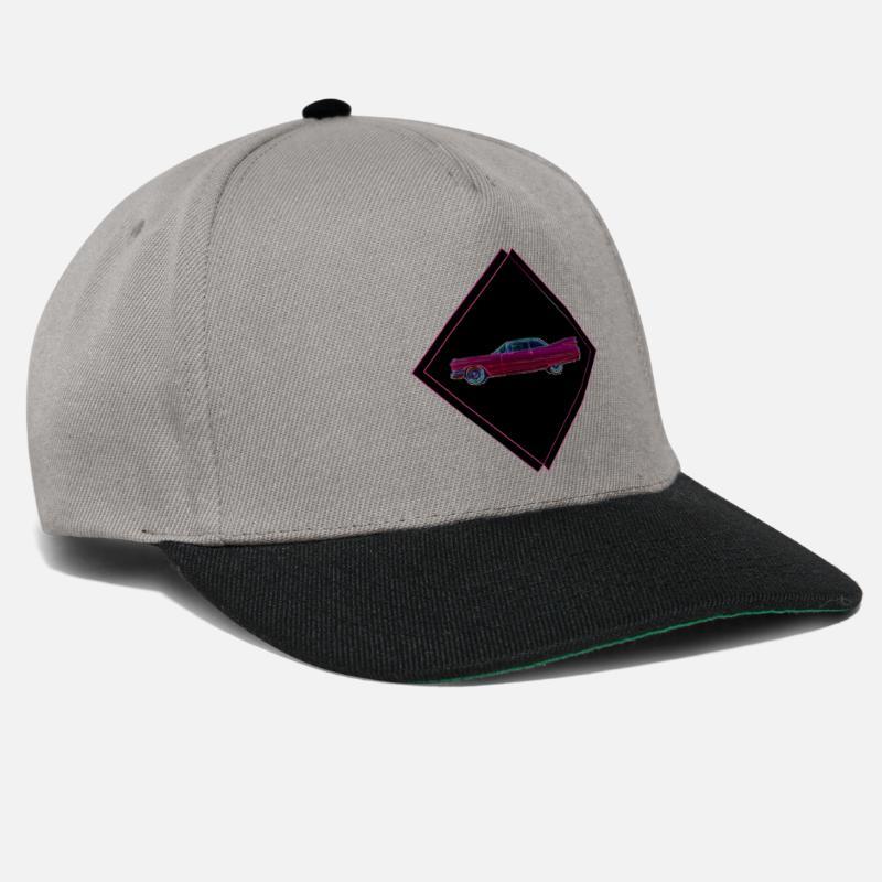 Pink Caps   Hats - Cadillac - Snapback Cap graphite black a191c409fb39