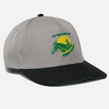 Racehorse Racehorse with rider - Snapback Cap