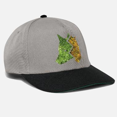 Grey Wolf Wolf and Tiger Forest - Snapback Cap