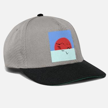 Ink Glowing sun - Snapback Cap