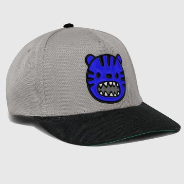 Tiger blue stitched look - Snapback Cap