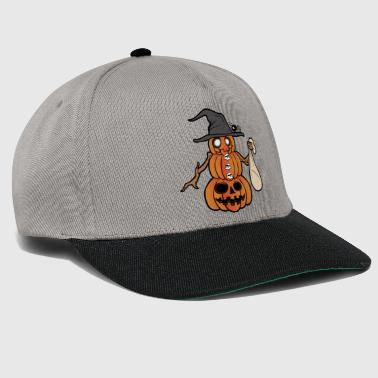 Pompoen Halloween Monster Zombie Horror - Snapback cap