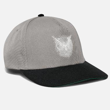At Night Owl at night - Snapback Cap