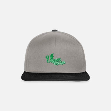 36ab4280f8d Vegan Shirt · Organic · Eco-Friendly Gift - Snapback Cap