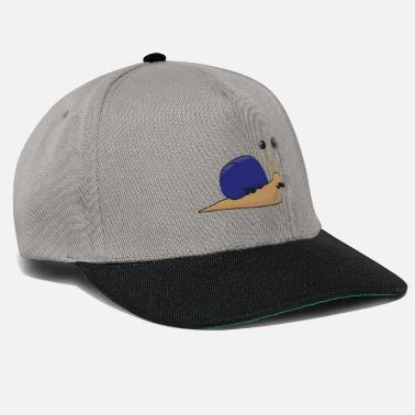 Wealthy The wealthy snail - gift idea - Snapback Cap