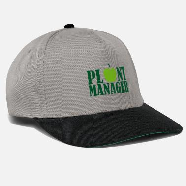 Sitater Plant Manager Mother Earth Vegan saying gift - Snapback cap