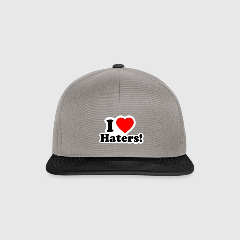 I LOVE HATERS - ICH LIEBE NEIDER - Snapback Cap