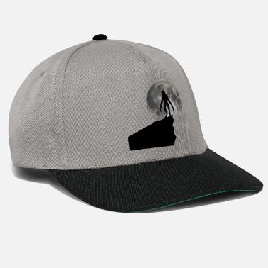 Full Werewolf - full moon - Snapback Cap