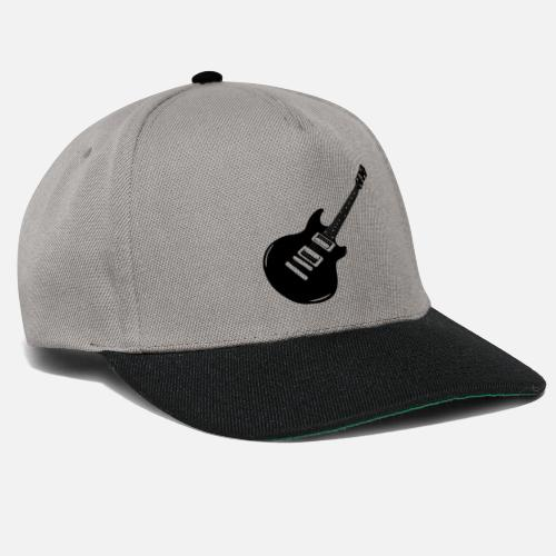 delante. Diseño. delante. Diseño. delante. Diseño. Diseño. delante. Guitarras  Gorras y gorros - guitarra - Gorra snapback gris grafito negro bf571dbcaa0
