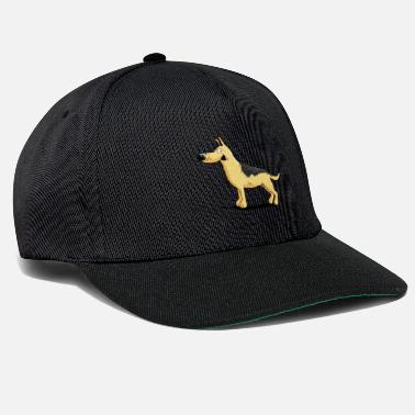 Merry German shepherd dog i dog - Snapback Cap