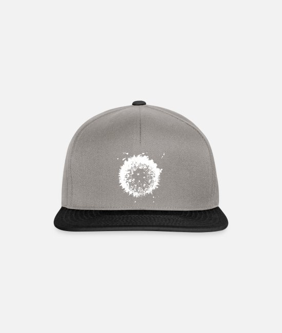 Drawing Caps & Hats - Dandelion - Snapback Cap graphite/black